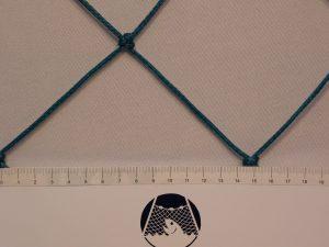 Football net, Polyethylene 100/3 mm green