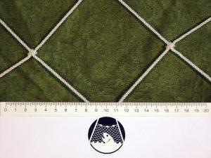 Football net, Polyethylene 100/3 mm white