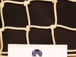 Hand-knitted net cotton 80/7 mm