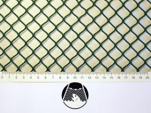 Machine-made netting polyamide (nylon) knotless 15×15/ 2,0 mm green