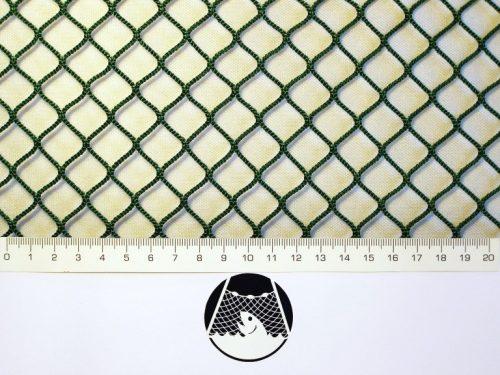 Machine-made netting Nylon knotless 15×15/ 2,0 mm green - 1