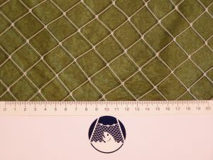 Aviary net for little birds PET 22/0,9 mm transparent
