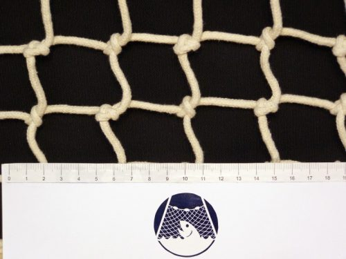 Hand-knitted net cotton 60/4 mm - 1