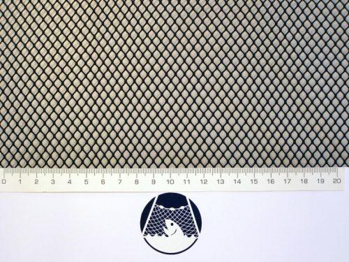 Machine-made netting Nylon knotless 5×5/ 0,6 mm black - 1