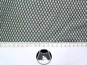 Machine-made netting polyamide (nylon) knotless 6×6/ 0,8 mm green