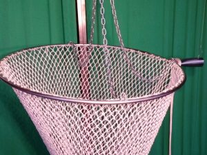 Mechanical hand net Ø 90 Nylon 30/3 mm – handled