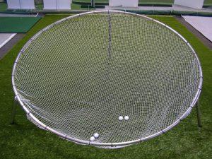 Chipping net Ø 190 cm Nylon 20/1,4 mm white