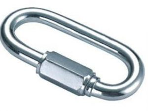 Quick-link 4 mm galvanized – binding element