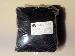 Drop net  1,5 x 1,5 m/ 4×4/0,6 mm PAD black knotless