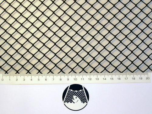 Machine-made netting Nylon knotless 10×10/ 1,4 mm dark green - 1