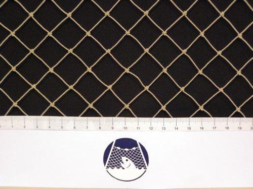 Aviary net for little birds, Polyethylene 20/1,0 mm stone - 1