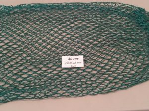 Spare net for hand net for catching pheasants 40 cm Nylon 20×20/2,1 mm