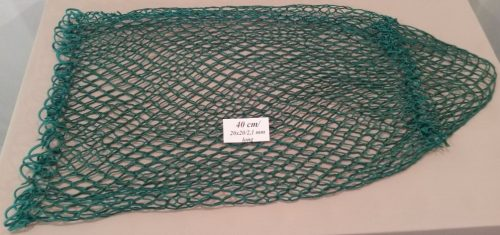 Spare net for hand net for catching pheasants 40 cm Nylon 20×20/2,1 mm - 1