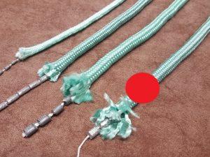 Lead rope 250 g/m