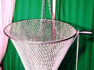 Mechanical hand net Ø 70 Nylon 30/3 mm – handled