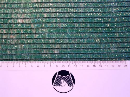 Shielding net on fences / Scaffolding net N, 1,5 x 18 m/ 70 g/m2 HDPE - 1