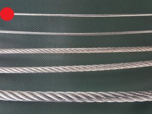 Wire rope Ø 2 mm galvanized