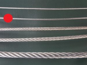 Wire rope Ø 3 mm galvanized