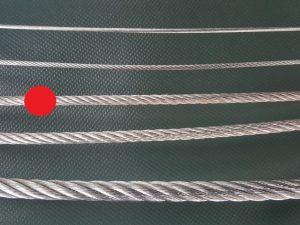 Wire rope Ø 4 mm galvanized