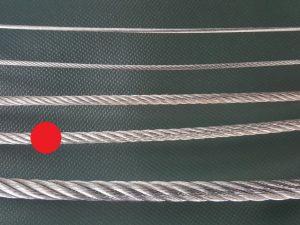 Wire rope Ø 6 mm galvanized