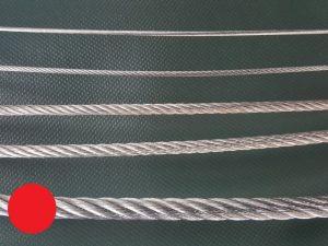 Wire rope Ø 8 mm galvanized