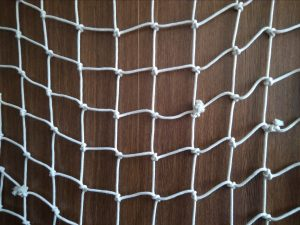 Hand-knitted net N, cotton 50/4,0 mm, 0,9 x 1,4 m