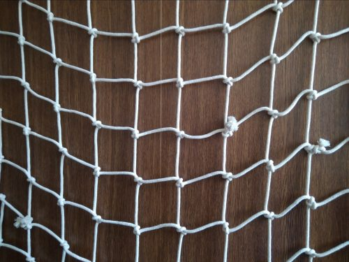 Hand-knitted net N, cotton 50/4,0 mm, 0,9 x 1,4 m - 1