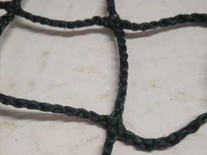 Protection net – knotless N, PET 45/3,0 mm dark green - 2