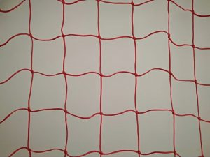 Protective nets for ski slope 25 x 1,2 m, Polyethylene 120/3,5 mm red - 3