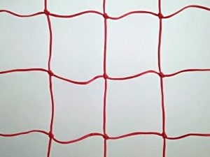 Protective nets for ski slope 25 x 1,25 m, Polyethylene 120/3,5 mm red