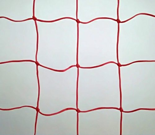 Protective nets for ski slope 25 x 1,2 m, Polyethylene 120/3,5 mm red - 1