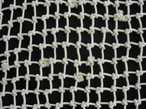 Hand-knitted net N, cotton 60/8,0 mm, 1 x 1,4 m