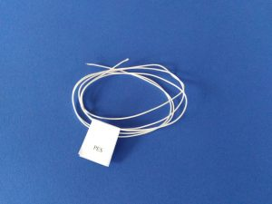Polyester twine Ø 0,9 mm / 150 g, woven, white